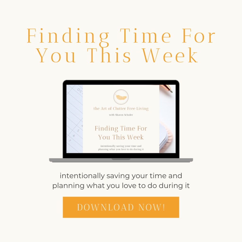 Finding Time for You This Week